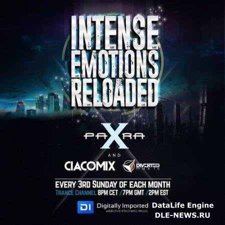 Para X & Ciacomix - Intense Emotions Reloaded 012 (2017-07-16)
